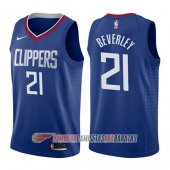 Camiseta Patrick Beverley #21 Los Angeles Clippers Icon 2017-18 Azul