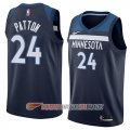 Camiseta Justin Patton #24 Minnesota Timberwolves Icon 2018 Azul