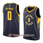 Camiseta Alex Poythress #0 Indiana Pacers Icon 2018 Azul