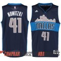 Camiseta Nowitzki Urbano #41 Dallas Mavericks Azul