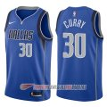 Camiseta Seth Curry #30 Dallas Mavericks Icon 2017-18 Azul