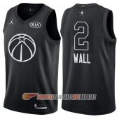 Camiseta John Wall NO 2 All Star 2018 Wizards Negro