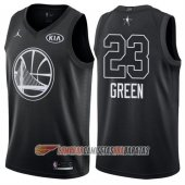Camiseta Draymond Green NO 23 All Star 2018 Warriors Negro