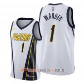 Camiseta T.j. Warren #1 Indiana Pacers Earned Blanco