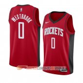 Camiseta Russell Westbrook #0 Houston Rockets Icon 2019-20 Rojo