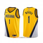 Camiseta T.j. Warren NO 1 Indiana Pacers Statement 2019-20 Amarillo