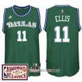 Camiseta Ellis #11 Dallas Mavericks Retro Verde