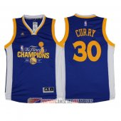 Camiseta Curry #30 Golden State Warriors Campeon Final 2017 Az