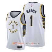 Camiseta T.j. Warren #1 Indiana Pacers Association Blanco