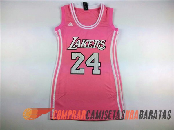 Rosa Angeles Los 24 Bryant Lakers Mujer Camiseta xZzYwqF